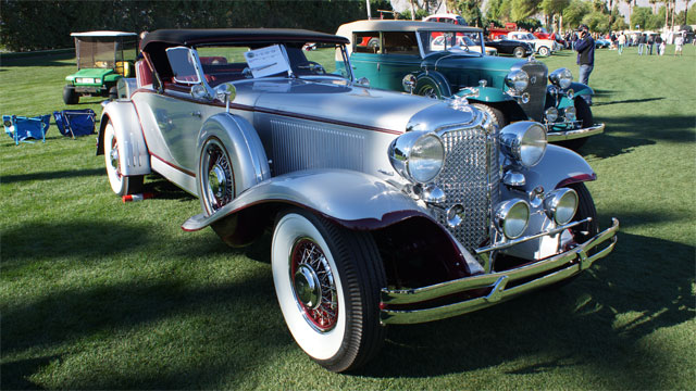 1931 Chrysler Imperial, Best in Show - Desert Classic Concours d'Elegance 2013