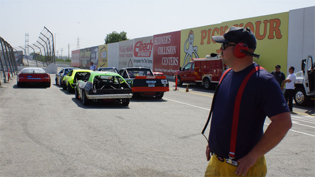 Irwindale Speedway Police & Fire Vehicles