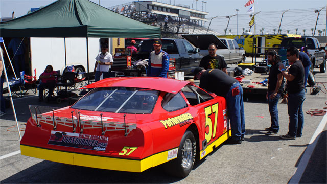 Irwindale Speedway NASCAR OnTrack Autograph Session