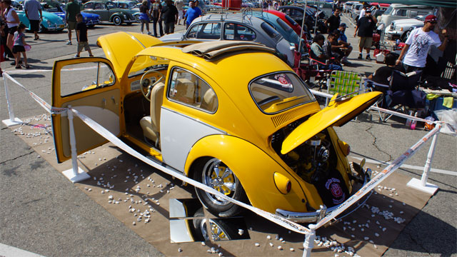 1961 VW Bug Re-invented Bug-In 38