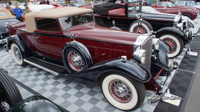 1933 Packard Super 8 Roadster - Brooks Bros. Timeless Classic - Spirit of Greystone Award Greystone Concours