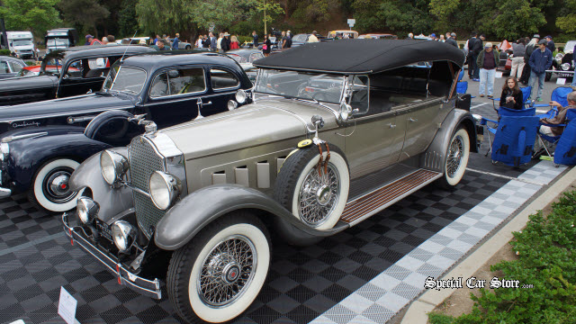 1933 Packard Super 8 Roadster - Brooks Bros.Timeless Classic Award Greystone Concours