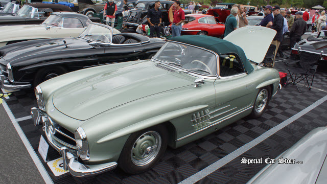 1958 Mercedes Benz 300SL Roadster - Best of Class Greystone Mansion Concours d'Elegance