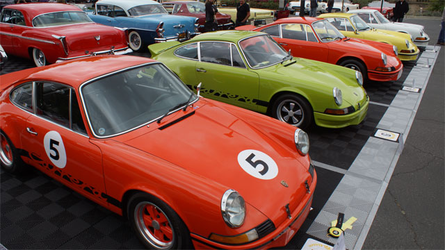 1973 Porsche 911 RS 40 Years at Greystone Concours