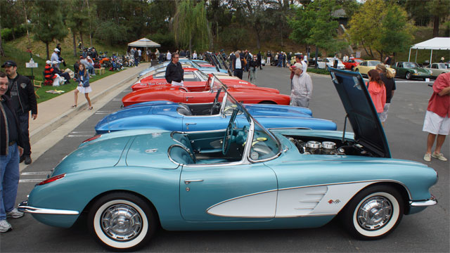 Greystone Mansion Concours d'Elegance Honored 60 Years of Corvette