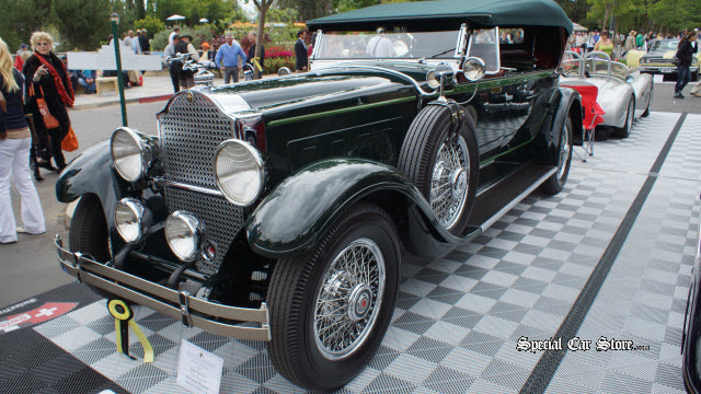 929 Packard 645 Sport Phaeton - Best of Class Greystone Mansion Concours d'Elegance