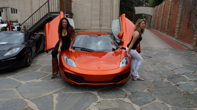 Fashion at McLaren Auto Gallery Greystone Mansion Concours d'Elegance