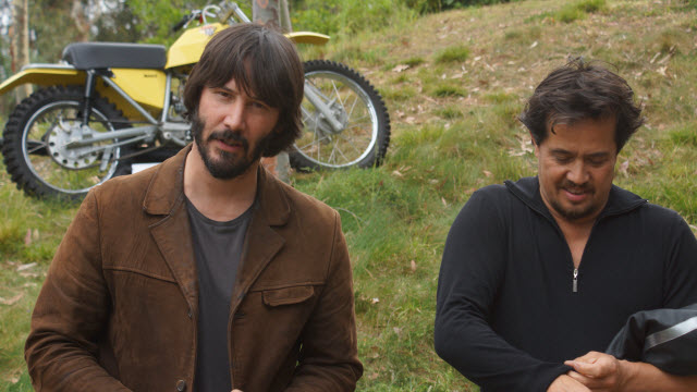 Keanu Reeves at Greystone Mansion Concours d'Elegance