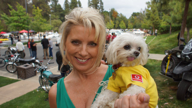 Enzo Friend at Greystone Mansion Concours d'Elegance