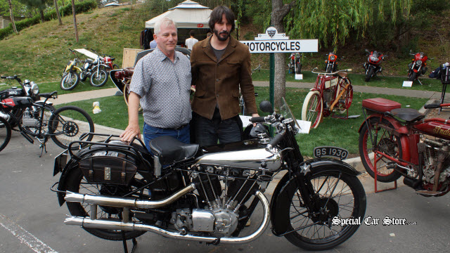1930 Brough Superior SS-100 Best of Show Award Greystone Concours