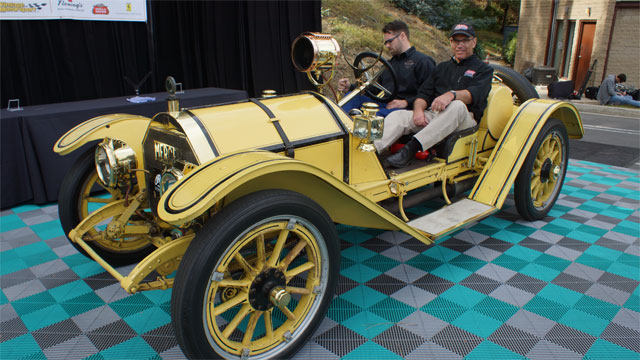 1913 Mercer Type 35-J Petersen at Greystone Mansion Concours d'Elegance: