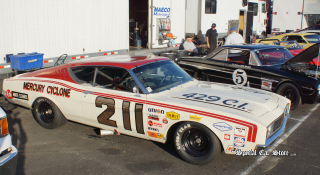 #211 1969 Mercury Cyclone Sonoma Historic Motorsports Festival race winners