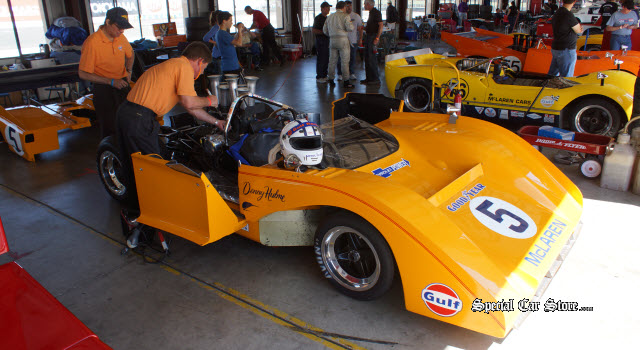1972 Gulf Mirage M6 No 5 Sonoma Historic Motorsports Festival race winner