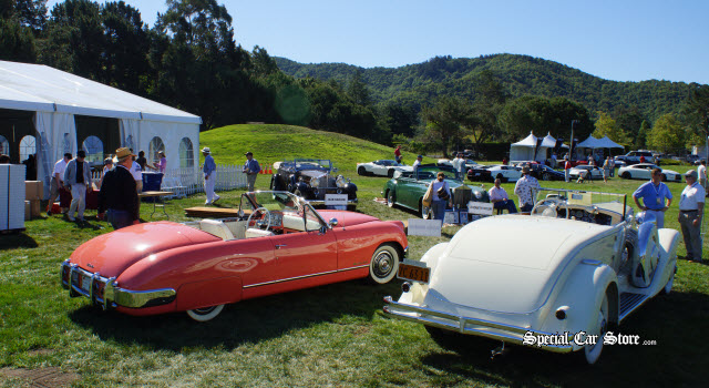 Hollywood Legend Cars Marin Sonoma Concours d'Elegance