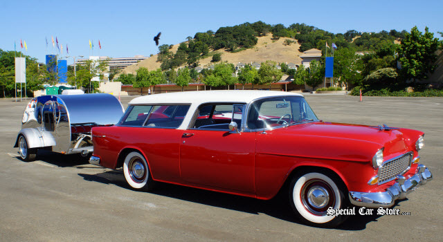 1955 Chevrolet Nomad Marin Sonoma Concours d'Elegance