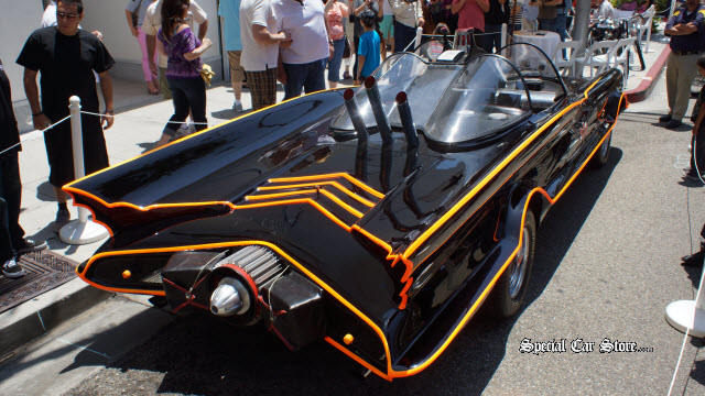 The Batmobile - Rockstar Award Most Outrageous Rodeo Drive Concours d'Elegance