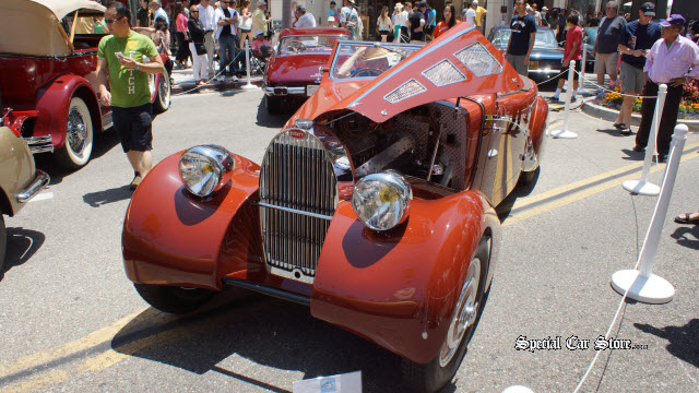 1937 Bugatti Type 57 - Rodeo Drive Award Most Fashionable Rodeo Drive Concours d'Elegance