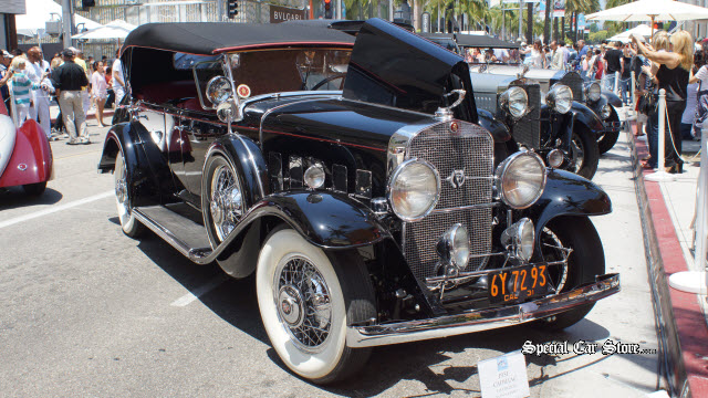 1931 Cadillac - Mayor's Award Rodeo Drive Concours d'Elegance