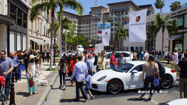 Rodeo Drive Concours D Elegance 50 Years Of The Porsche