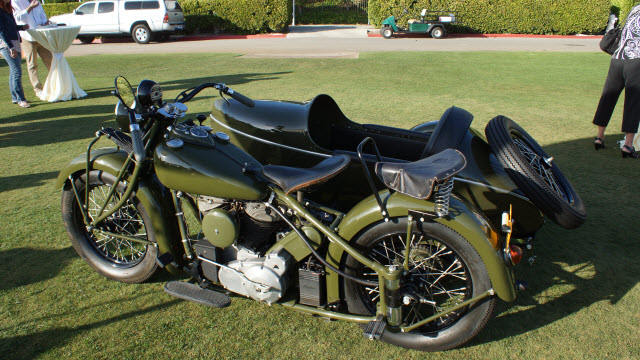Antique Motorcycle Dana Point Concours d'Elegance