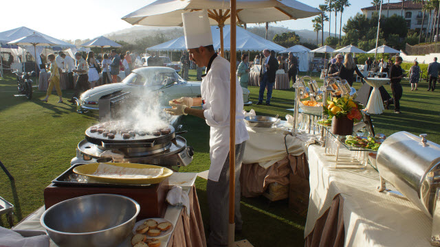 Reception Food Dana Point Concours d'Elegance