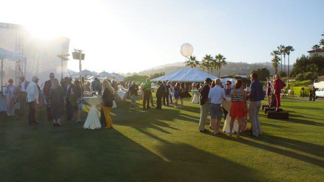 Receiption Guest of Honors Dana Point Concours d'Elegance