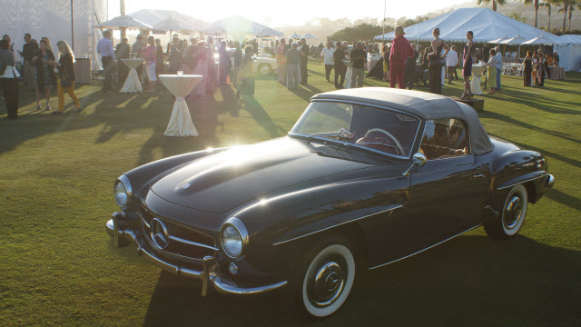 Classic Mercedes Evening Reception Dana Point Concours d'Elegance