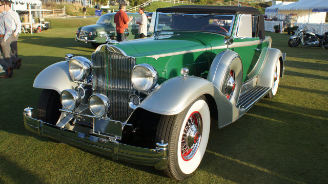 1933 Packard Reception Dana Point Concours d'Elegance