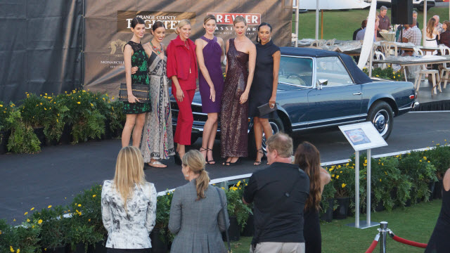 Fashion Models Reception Dana Point Concours d'Elegance