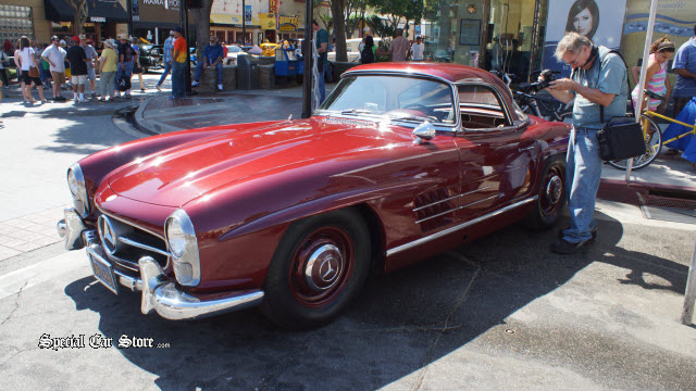 1957 Mercedes-Benze 300 SL Roadster, Owned by Robert Stack Auctions America California