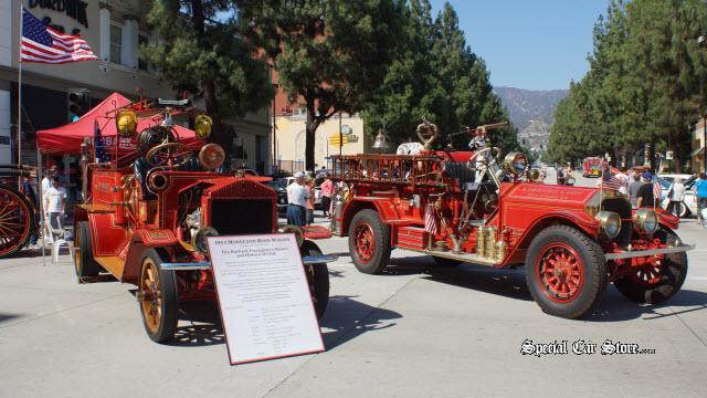 1913 Moreland Hose Wagon, Owned and Restored by The Burbank Firefighters Muster & Historical Club