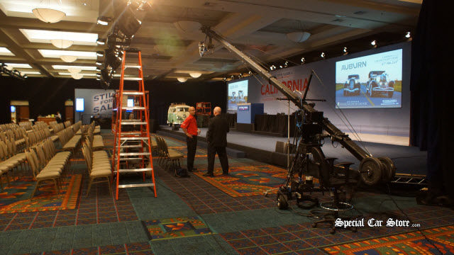 Auctions America Sets The Stage at the Mariott