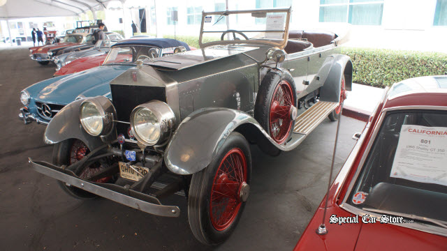 1920 Rolls-Royce Silver Ghost Pall Mall Auctions America California