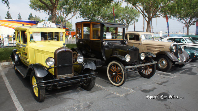 1929 Citroen French Taxi & 1921 Ford Model T Auctions America California
