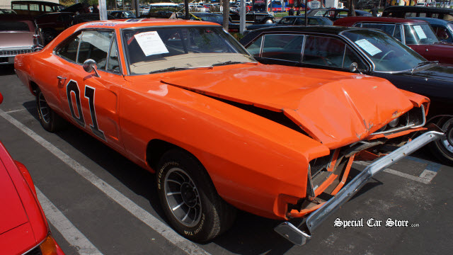 "1968 Dodge Charger, ""Dukes of Hazard"" movie stunt car Auctions America California"