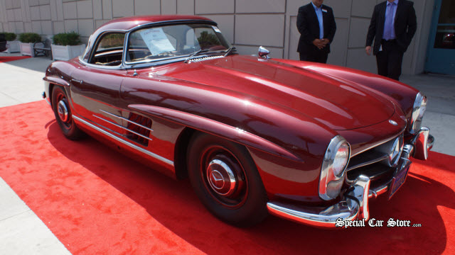 1957 Mercedes-Benz 300SL Roadster Sold Auctions America California