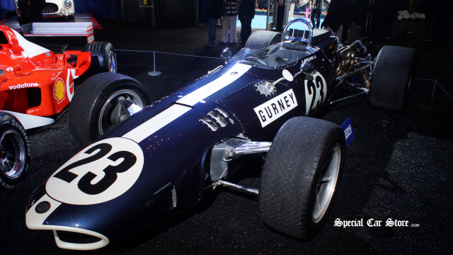 1966 AAR Gurney-Weslake Eagle Mk 1 Gooding and Company Auctions 2013 Pebble Beach