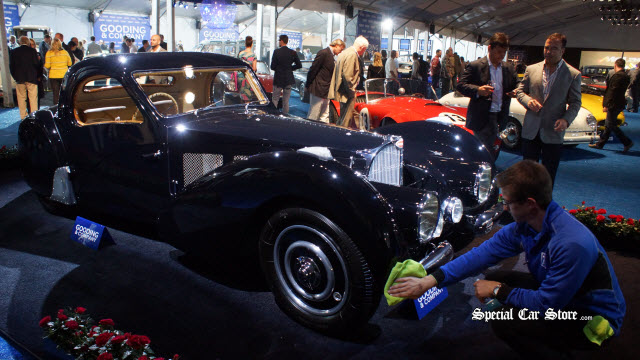 1937 Bugatti Type 57SC Atalante Gooding and Company Auctions 2013 Pebble Beach