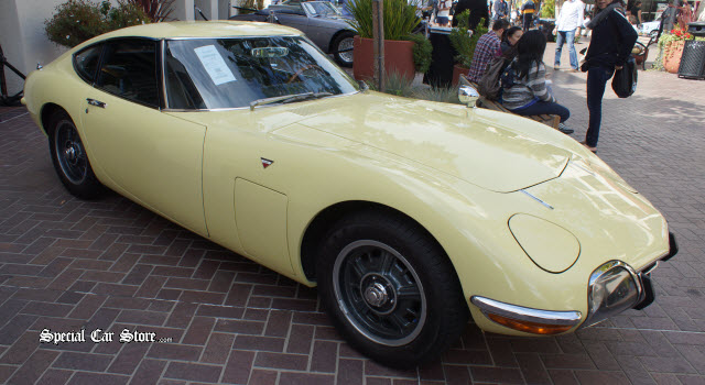 1968 Toyota 2000GT RM Auctions Monterey CA 2013