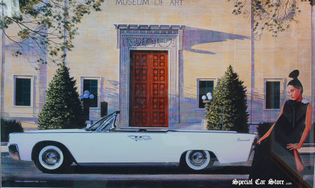 """""""The Art of Elegance"""" by Ken Eberts: 1961 Lincoln Continental at AFAS Pebble Beach 2013"""