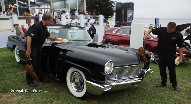 1956 Lincoln Continental MK II, Eleanor Ford's Car - Automotive Fines Arts Society Pebble Beach Exhibit 2013