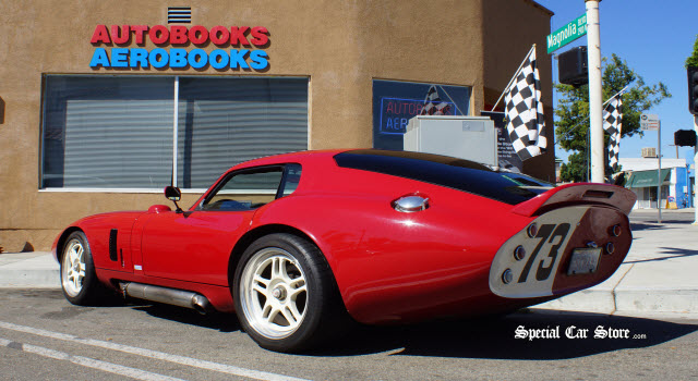 2005 Superformance Brock Daytona Coupe Peter Brock Book Signing AeroBooks-AutoBooks Burbank