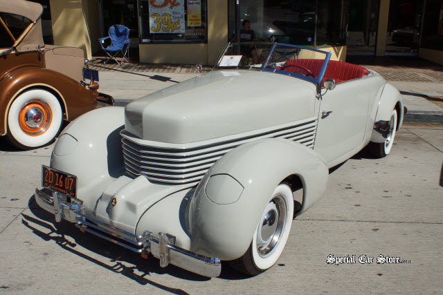 1937 Cord 812 Phaeton Downtown Burbank Car Classic