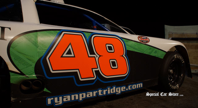 Ryan Partridge NASCAR at Irwindale Speedway