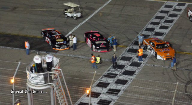 NASCAR Racing at Irwindale Speedway - Results Sep 28