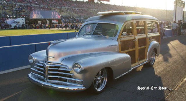 Auto Club Speedway 1948 Chevrolet Woodie Coach MAVTV 500 Indycar World Championship: Results