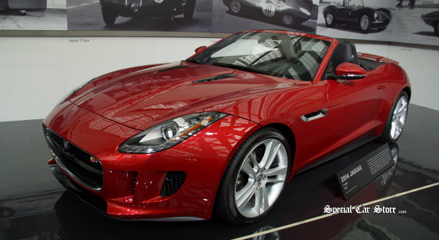 2014 F-TYPE V8 S at Petersen Automotive Museum