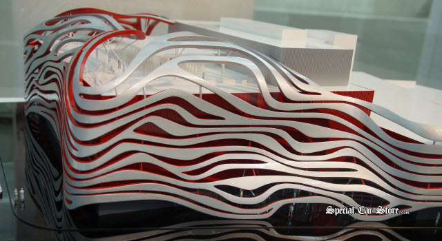 The New Petersen Automotive Museum