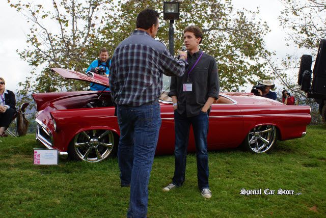 Dave Kunz Interviews Student at Art Center Car Classic Inspired Design