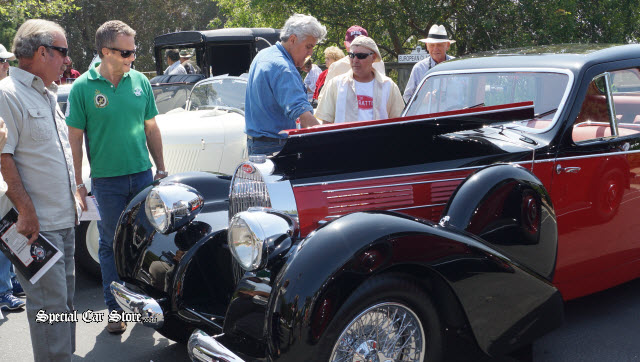 Jay Leno Hosts Auctions America on NBC Sports Network